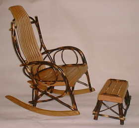 Hickory Chair Twin Bed